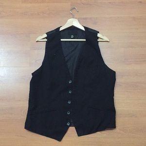 Black Dress Vest